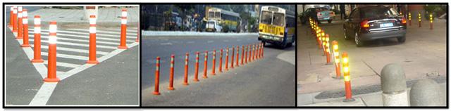 Cột phân làn giao thông bằng nhựa  EVA