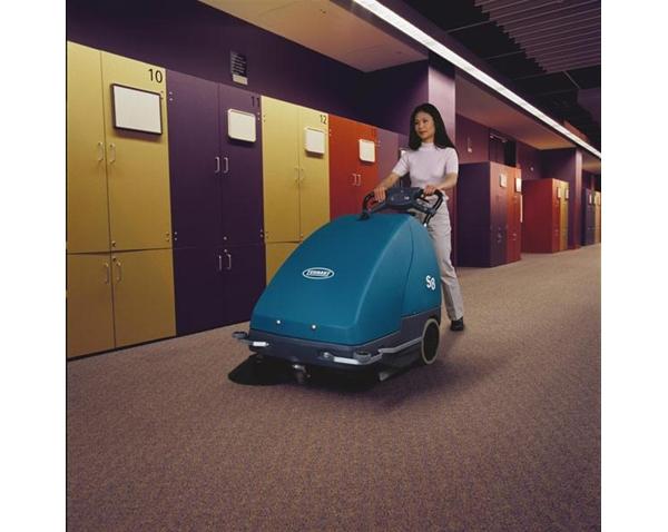 Máy quét sàn chạy ắc quy