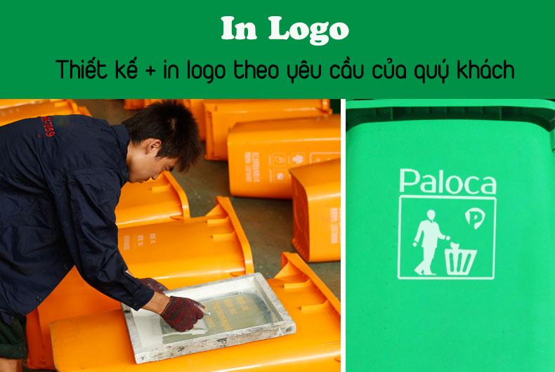 Giá bán thùng rác 240L chính hãng Paloca