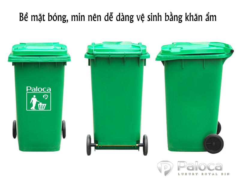 Báo giá thùng rác 240 lít thương hiệu Paloca