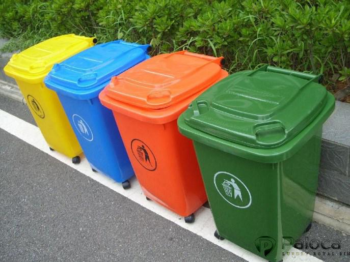 Thùng rác nhựa 60 lít chính hãng giá rẻ