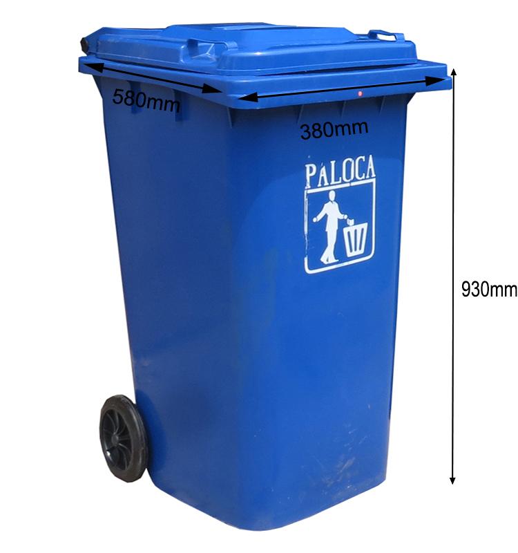 Kích thước thùng rác 120 lít