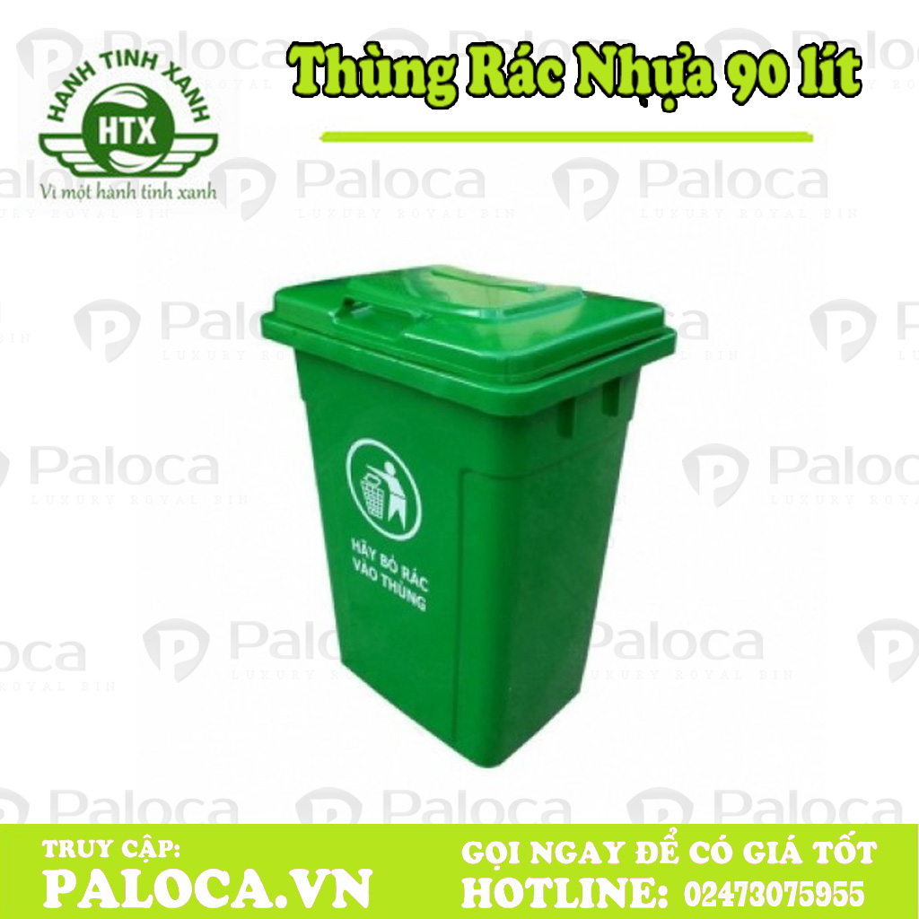 Thùng rác nông thôn 90 lít