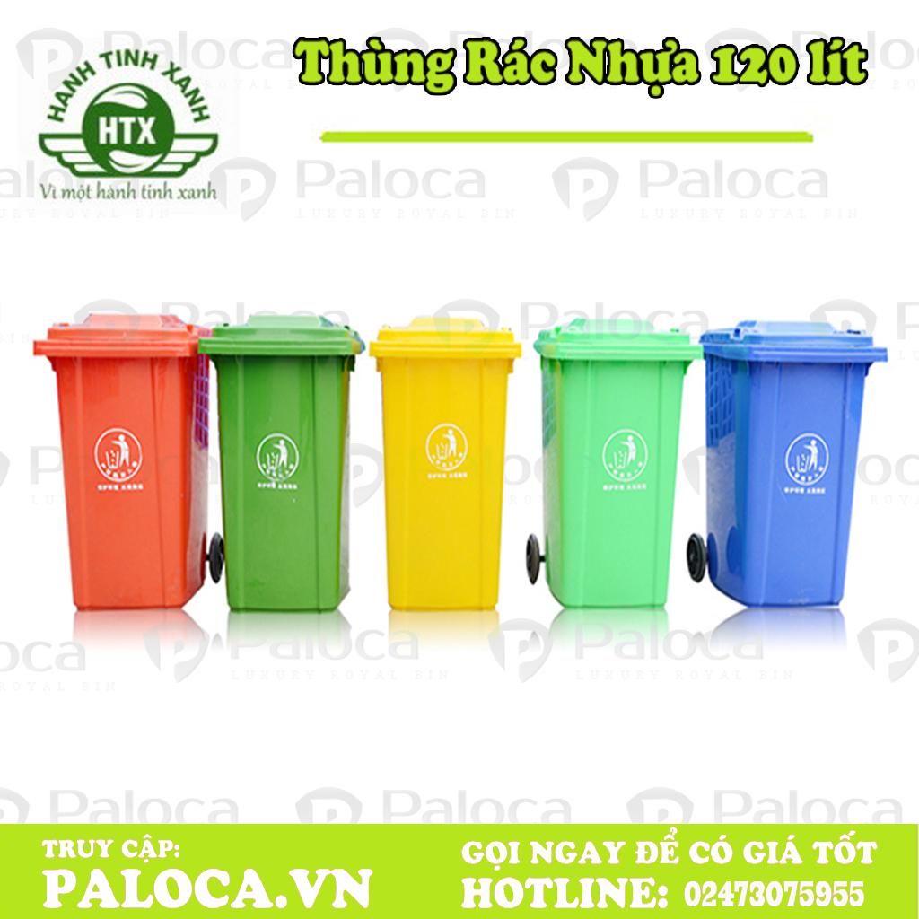 Thùng rác nông thôn 120 lít