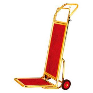 Xe chuyển hành lý inox mạ vàng D14-D