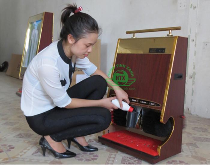 máy đánh xi giầy