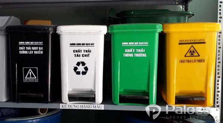 Thùng rác y tế 20 lít giá rẻ