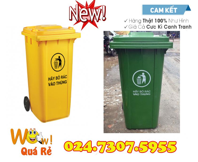 Thùng rác y tế 60 lít giá rẻ