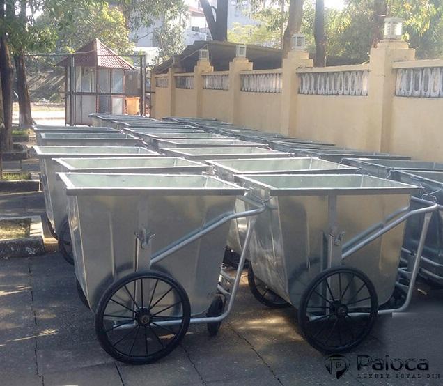 Báo giá xe thu gom rác thải 400 lít