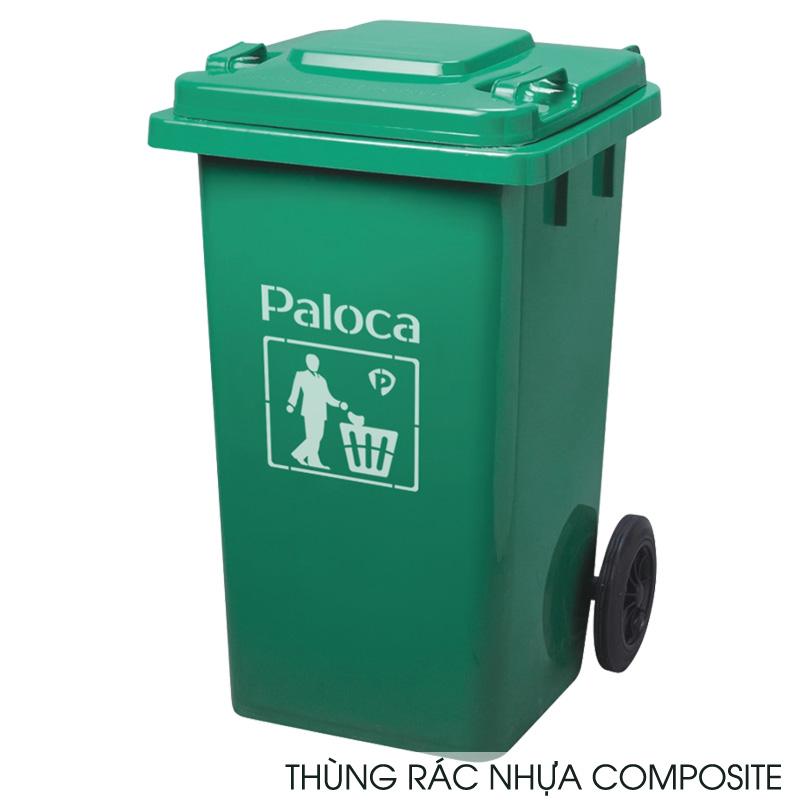 Thùng đựng rác composite 240 lít