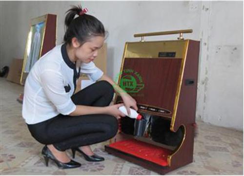 Cách khắc phục các sự cố của máy đánh giày tự động
