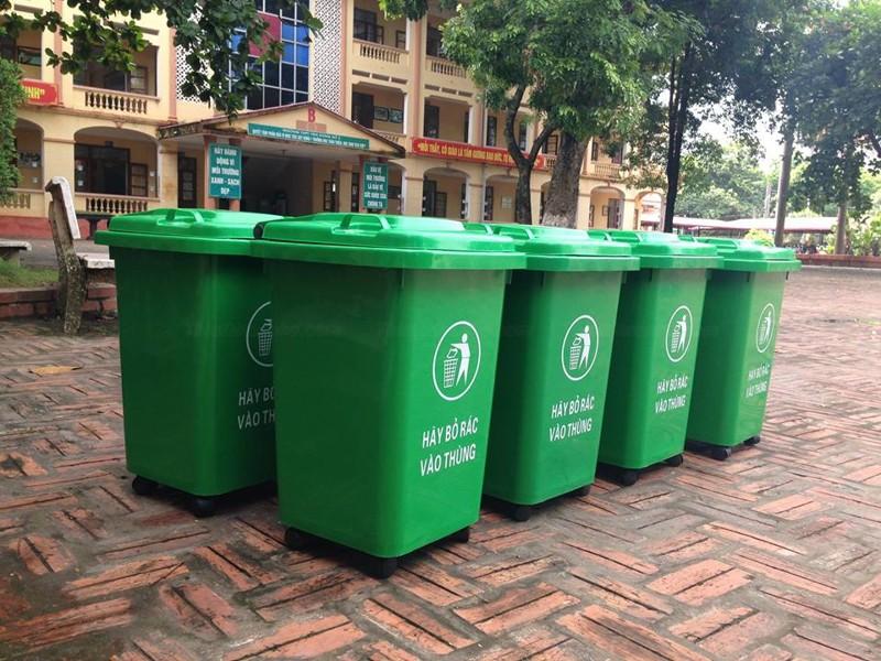 Cung ứng thùng đựng rác tại Hà Tĩnh
