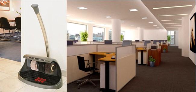Máy đánh giày tự động sử dụng trong văn phòng