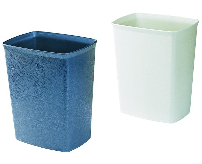 Thùng rác có các hạt chống cháy
