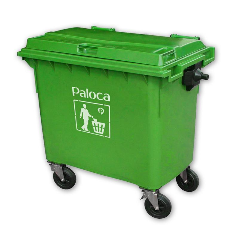 Thùng rác công cộng 660 lít