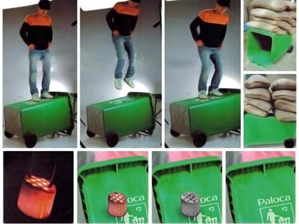 Thùng rác công nghiệp chính hãng