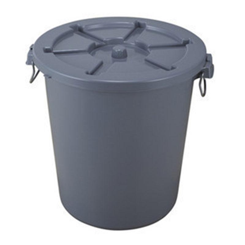 Thùng rác nhựa HDPE tròn 110L