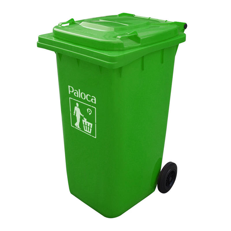 Thùng rác nhựa 240 lít có bánh xe