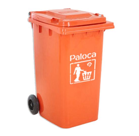 Thùng rác nhựa màu cam