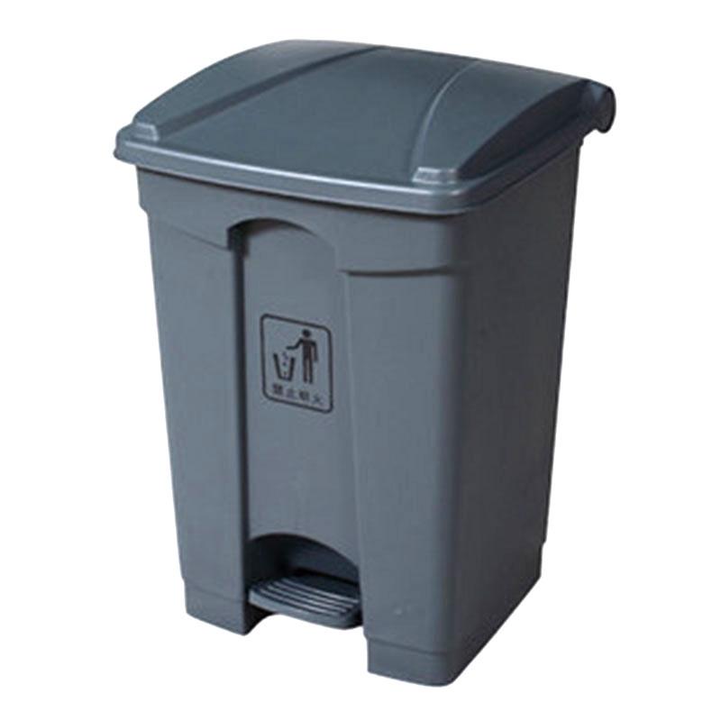 Thùng rác nhựa có nắp đạp chân 30L