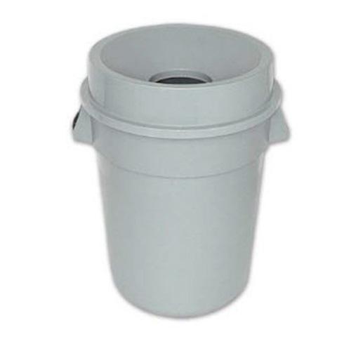 Thùng rác nhựa tròn nắp hở 80L