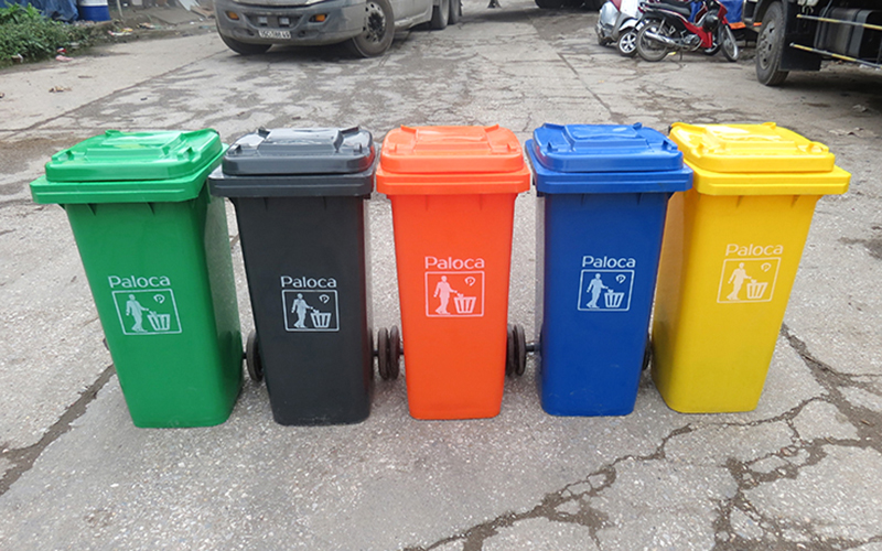 Thùng rác nơi công cộng
