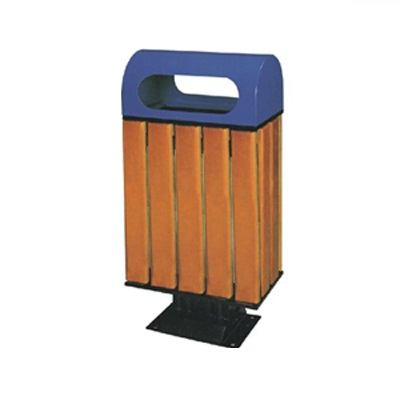 Sọt rác công cộng bằng gỗ