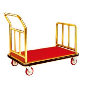 Xe đẩy hành lý inox cao cấp D22