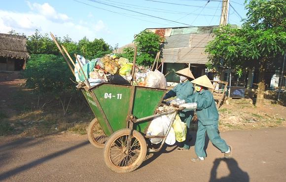 Xây dựng tuyến phố không rác tại Cà Mau