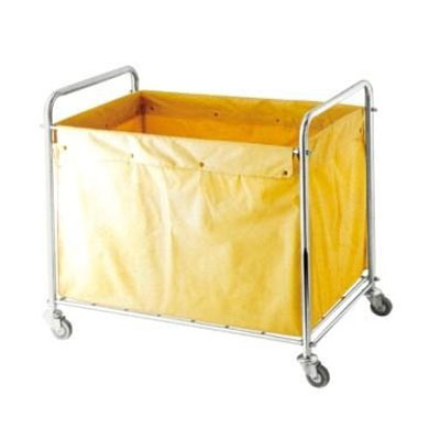 Xe chở đồ vải trong bệnh viện