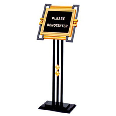 bảng welcome giá rẻ bằng inox