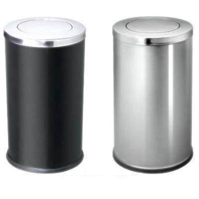 báo giá thùng rác inox tròn nắp bập bênh