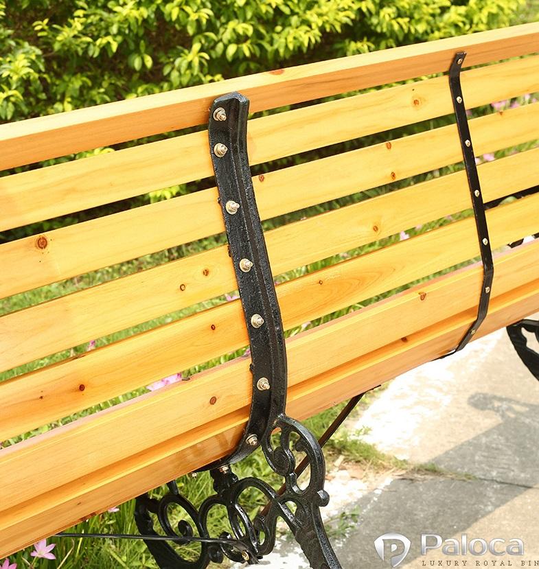 Ghế gỗ công viên
