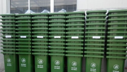 Thùng rác tại Quảng Ninh