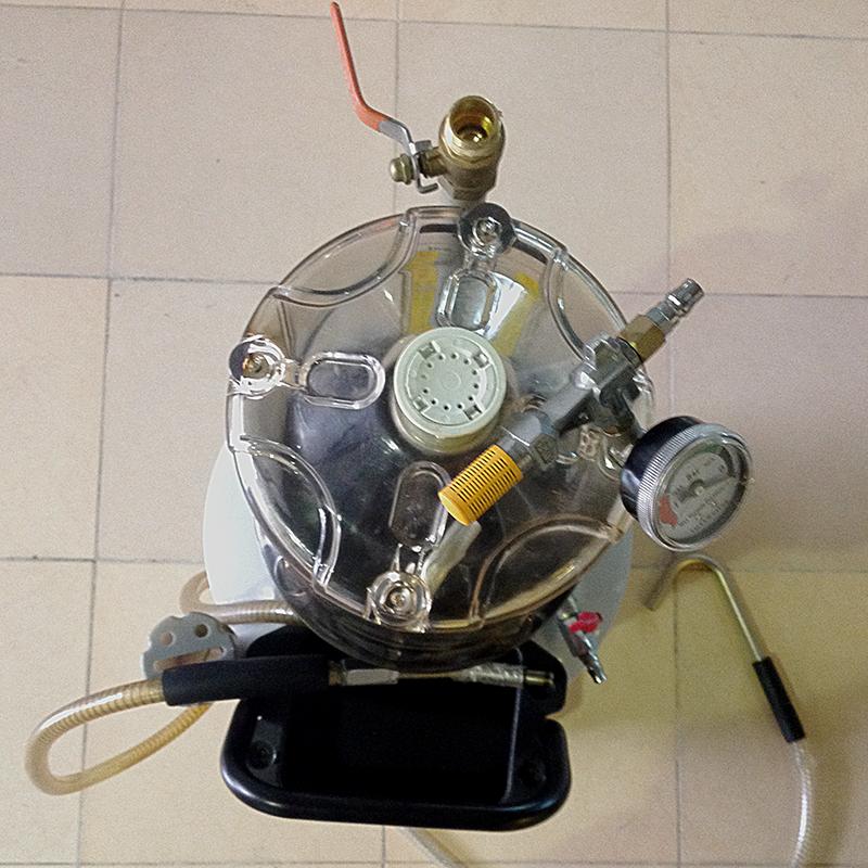 Động cơ máy hút dầu thải