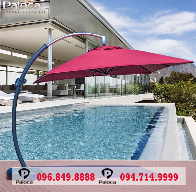 Ưu điểm của ô dù ngoài trời bể bơi