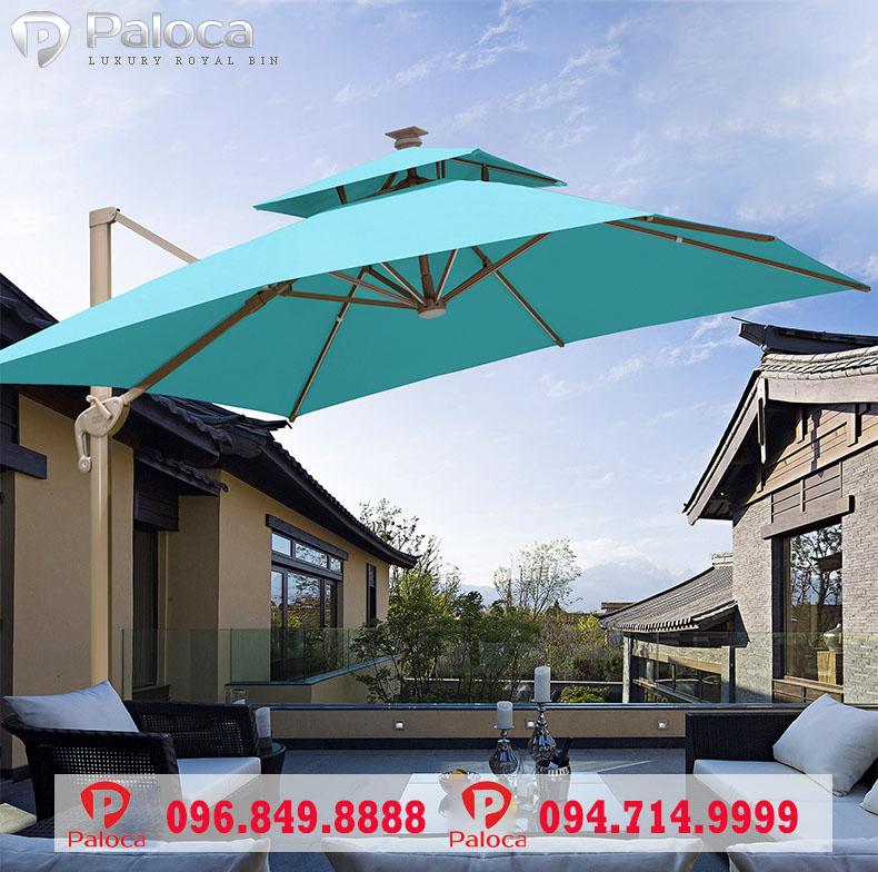 Nhu cầu sử dụng ô dù ngoài trời Paloca