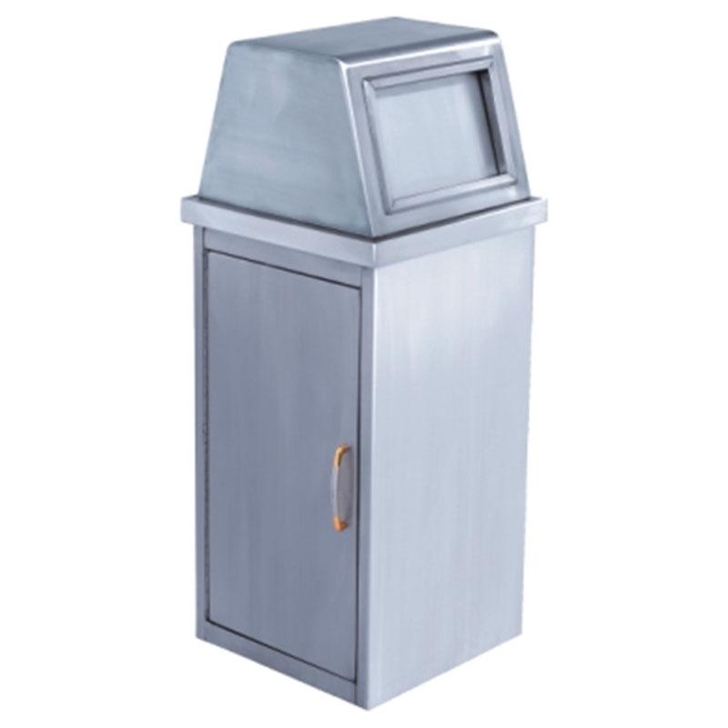 thùng rác inox ngoài trời