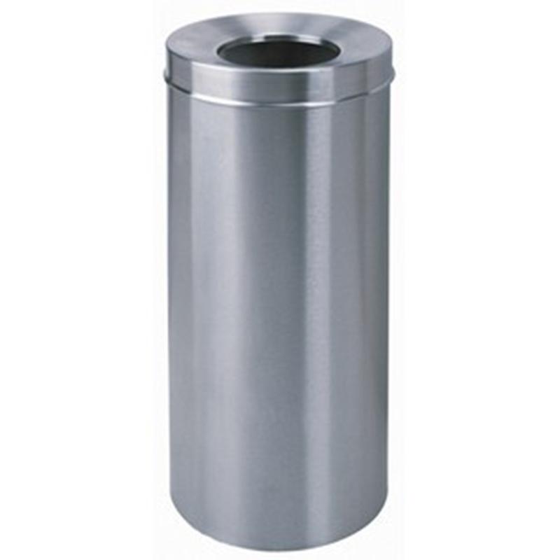 thùng rác inox tròn