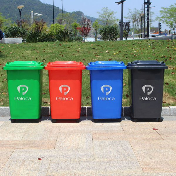 Thùng rác nhựa công nghiệp 60l có độ bền vượt trội