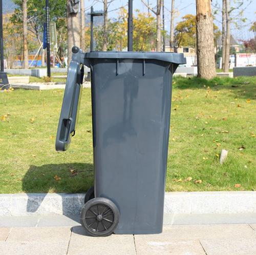 Thùng rác nhựa Paloca chất liệu composite có dung tích 240 lít