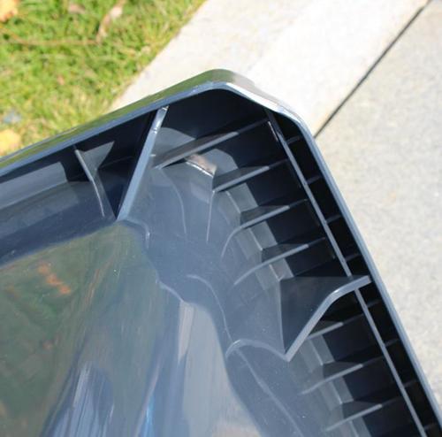 Miệng thùng gia cố thêm nhựa dạng lưới mắt cáo