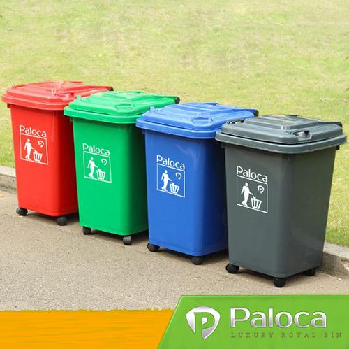 Mỗi thùng thường dành cho một loại rác đặc thù