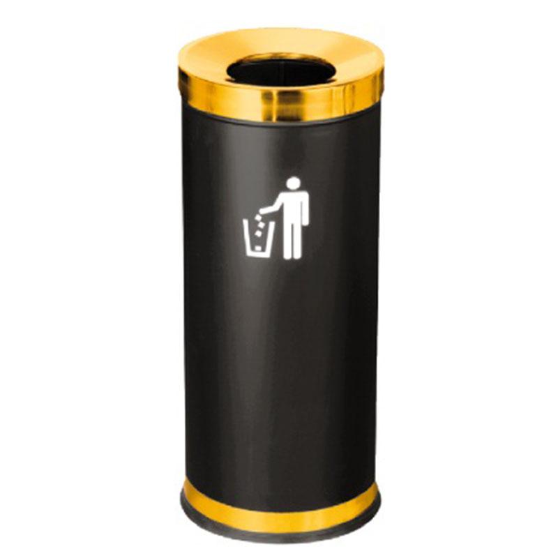 thùng rác thép phun sơn