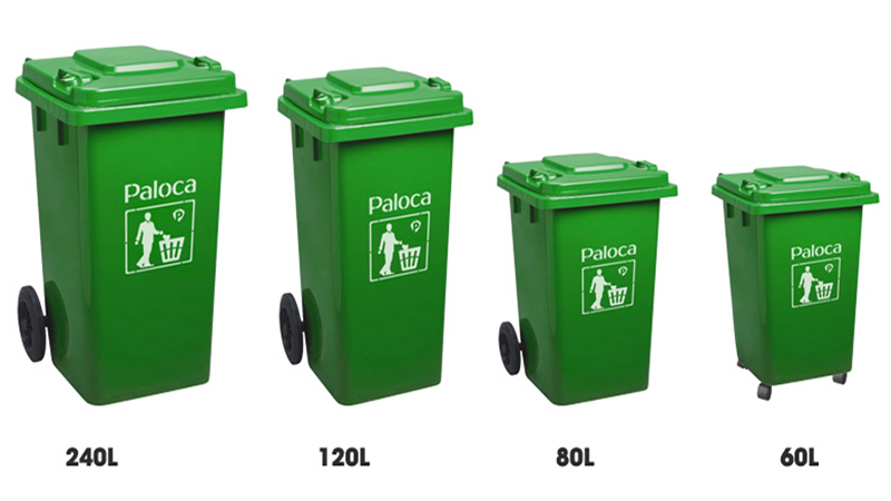 Thùng rác nhựa HDPE giá rẻ