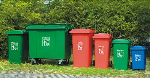 Thùng rác nhựa HDPE paloca